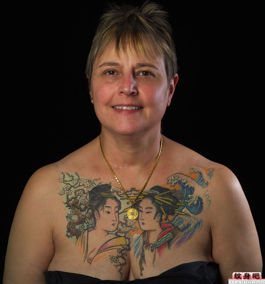 日本纹身图案大全 > 正文            日本纹身图案大全:经典满背般若