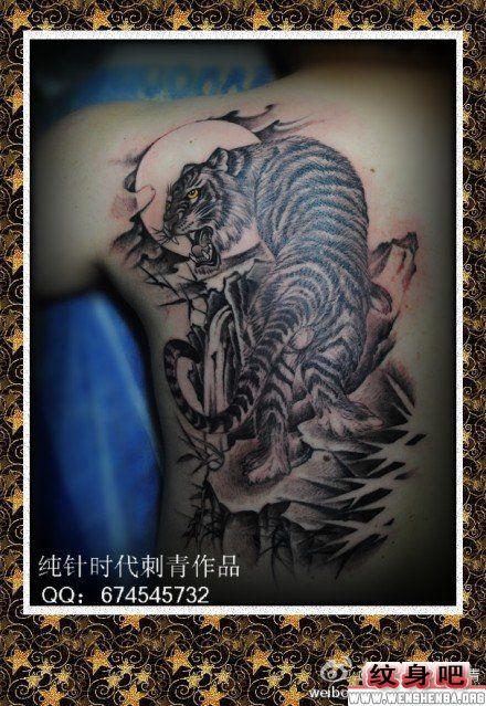老虎纹身图案大全 > 正文            男人背部上山虎纹身图案